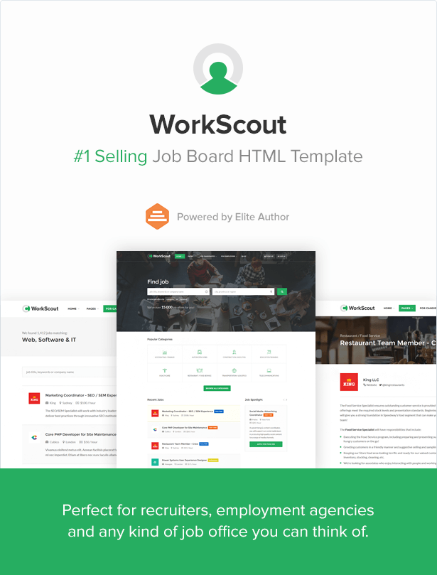WorkScout - Job Board HTML Template - 2